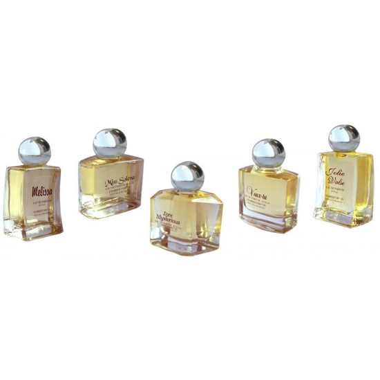 Caseta cadou in set 5 SECRETS DE PARFUMS