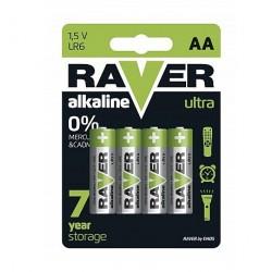 Baterii alkaline Raver 1,5 V AA