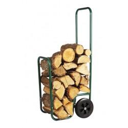 Carucior transport lemne 2 in 1