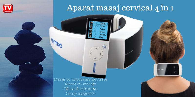 Aparat Masaj cevical 4in1