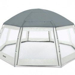 Pavilion piscina POOL DOME 600 x 600 x 295 cm