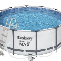 Piscina cu cadru Steel Pro Max 427 x 122 cm cu accesorii