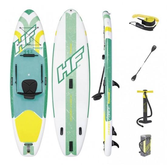 Paddleboard FREESOUL TECH 340 x 89 x 15 cm